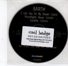 (DS343) Barth, I Got You In My Dream - 2003 DJ CD