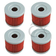 4 PCS Oil Filters For Hyosung GT250 GT250R GV250 Aquila Suzuki DR100 DR125 New