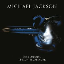 MICHAEL JACKSON / 2014 Wall Calendar (sealed with minor defect)
