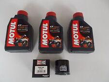 KIT TAGLIANDO OLIO MOTUL 7100 10W-40 + FILTRO per HONDA CBR 600 RR 2003 2004