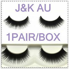 1 Pairs Long False Eyelashes Natural Fake Black Thick Eye Lashes EL0001_CEO