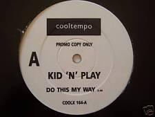 "Kid n play-ce faire mon chemin - 12"" SINGLE PROMO"