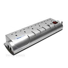 Silver Shield Professional 6 Way ufficio PROLUNGA CON TELEFONO & Modem di linea