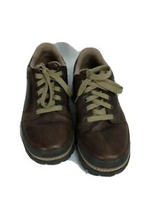 Crocs Womens US 7M Brown Oxford Comfort Walking Shoes
