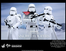STAR WARS HOT TOYS FIRST ORDER SNOWTROOPER & OFFICER 1:6 SCALE FIGURE HOTMMS323