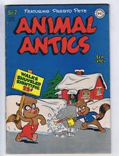 Animal Antics #7 DC Pub 1947