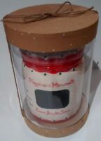 xmas Cookie Jar Chalkboard Child to Cherish wishlist sweets Santa gift box New