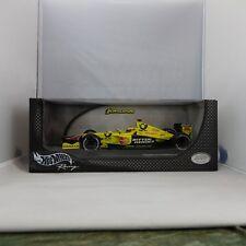 1:18, Signed, Jarno Trulli, Jordan Die Cast 2001 Formula 1 Hand Signed