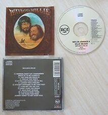 CD ALBUM WAYLON JENNINGS & WILLIE NELSON 11 TITRES 1978