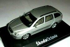 car 1/43 ABREX 143AB SKODA OCTAVIA COMBI (2G) 2004 MET SILVER NEW BOX