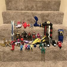 Power Rangers Samurai Zord Megazord Lot Parts Weapons Accessories Figures