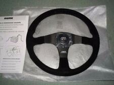 JDM OEM MUGEN POWER HONDA Steering Wheel MOMO Buckskin 350mm GENUINE NEW F/S