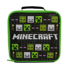 Lunchbag/Lunch Bag/Picnic/Food Carrier - Minecraft - Insulated Childrens
