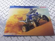2013 Yamaha Sport ATV Utility ATV Side by Side Brochure