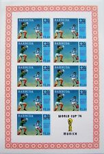 Barbuda - Block World Cup Football 1974 MNH imperforated