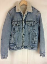 Vintage Sherpa Lined Levi's Trucker Jacket XL? Missing Tags Stamped 527 Buttons