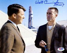 (SSG) WALT CUNNINGHAM Apollo, NASA Astronaut Signed 10X8 Photo with PSA/DNA COA
