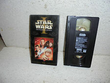 Star Wars The Phantom Menace VHS Video Out Of Print 2000 Jabba The Hut