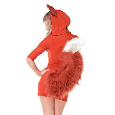 Woman Animal Fox Carnival Costumes Party Fancy Dress Bodycon Hoodiies Dress New