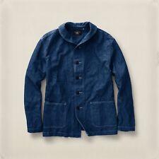 RALPH LAUREN RRL Pearson Indigo US NAVY FOULARD Jacket S Small BNWT