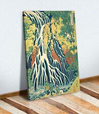 Hokusai Kirifuri Waterfall CANVAS WALL ART CANVAS ARTWORK PRINT PICTURE Japanese