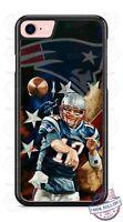 New England Patriots Tom Brady Phone Case for iPhone X 8 PLUS Samsung LG etc