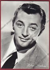 ROBERT MITCHUM 07 ATTORE ACTOR ACTEUR CINEMA MOVIE USA Cartolina FOTOGRAFICA