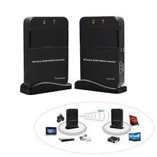 Hot 98FT Wireless AV Video Transmitter Receiver Wireless HDMI 60G Extender WIHD