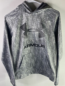 BOYS GIRLS UNDER ARMOUR HOODED SWEATSHIRT HOODIE SIZE YOUTH LARGE