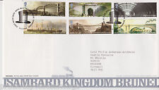 TALLENTS PMK GB ROYAL MAIL FDC FIRST DAY COVER 2006 BRUNEL STAMP SET