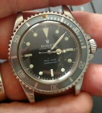 Vintage Rolex Meters First 5513 Submariner diver's mans Watch 1968? stainless