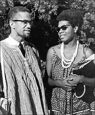 MAYA ANGELOU & MALCOLM X GLOSSY POSTER PICTURE PHOTO PRINT POET CIVIL RIGHTS