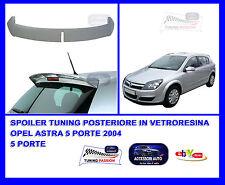 Alettone Spoiler Tuning  Posteriore Opel Astra 2004> Tuning - Accessori Opel