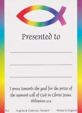 20 Children's Presentation Labels With Bible Text - EB0459