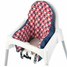 2pce IKEA Antilop Baby Child High Chair Support Inflatable Air Cushion & Cover