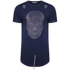 Short Sleeve Stretch Skull T-Shirts for Men
