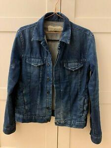Calvin Klein men's denim jacket size small S RRP £120