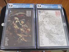 Dark Knight III The Master Race #1 Ivan Reis COLOR & SKETCH Variant BOTH CGC 9.8