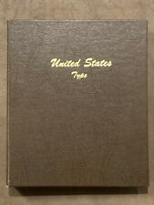 Dansco United States Type Album #7070 5 Pages  No Coins