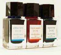 Pilot INK-15-3C-C Iroshizuku Fountain Pen Ink 3 Color Set 15 ml Bottle 494291