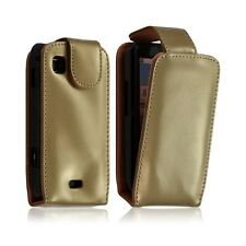 Shell cover case for samsung galaxy spica i5700 color gold + protector film