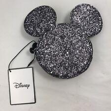 Disney primark Minnie-Mickey Mouse Brillo Cremallera Monedero BNWT Stocking Relleno