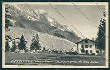 Aosta Courmayeur Ghiacciaio Brenva cartolina EE7229