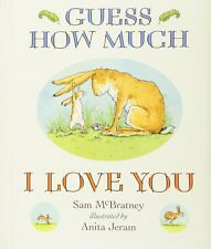 Guess How Much I Love You Padded Board McBratney, Sam Illust Free Ship