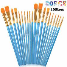 20Pcs Paint Brushes Set Artist Art Painting Supplies Acrylic Oil Paintings Craft