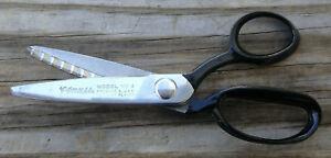 Clauss Model No. 4 Pinking Shears--Nice--Free Ship