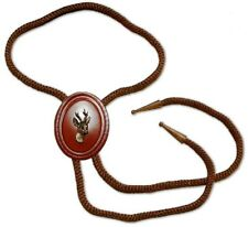Roe Deer Stag Head Bolo Tie Hunting Art Hunters Gift New