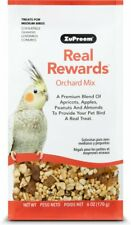 Zupreem Real Rewards ORCHARD Mix Medium Bird Parrot Food & Treats Fruits Nuts