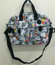 NEW ARRIVAL! KIPLING PALM PRINT BABY DIAPER BAG W/ CHANGING PAD $149 SALE