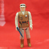 Vintage Star Wars Rebel Soldier Hoth Action Figure w/ Weapon